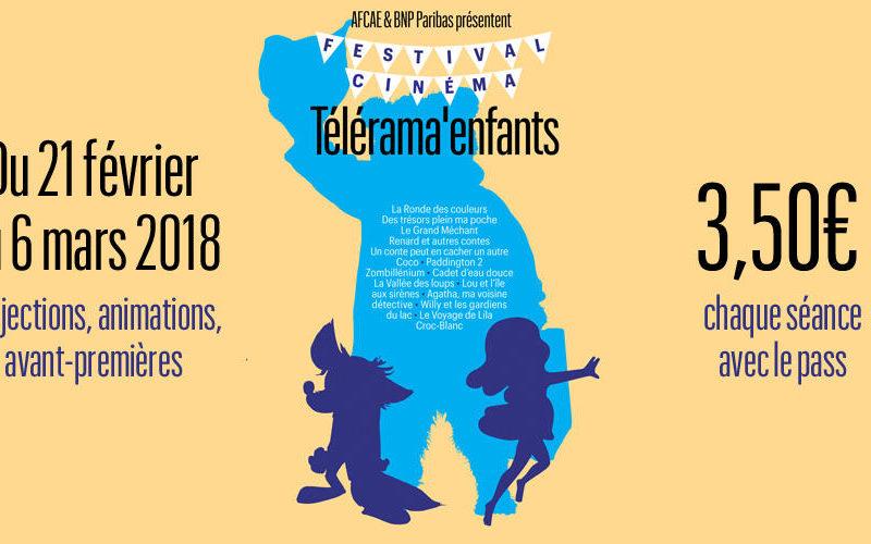 Les conseils programmation du festival cinéma Télérama enfants 2018