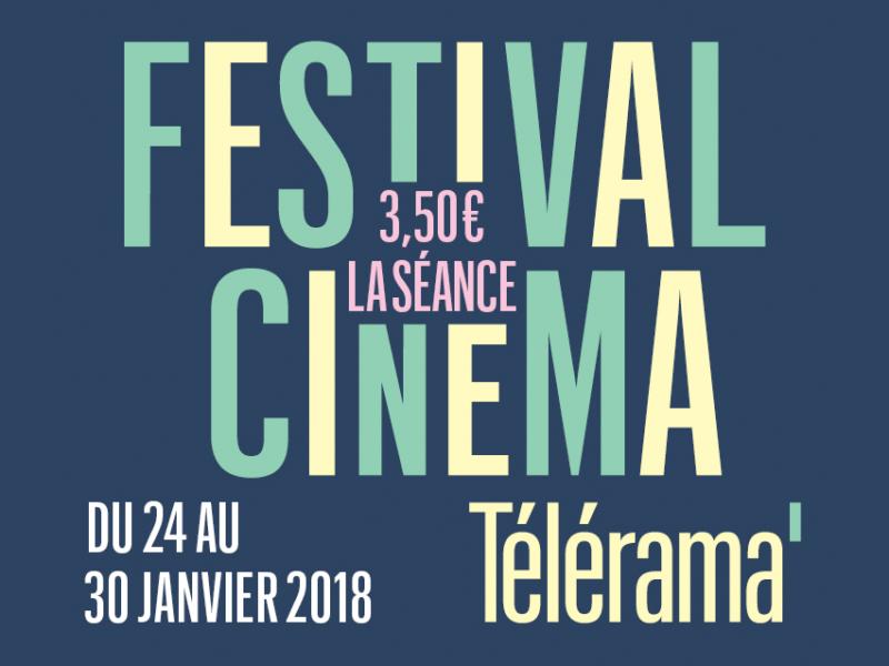 Les conseils programmation du festival cinéma Télérama 2018