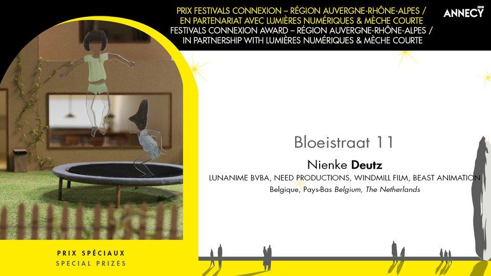Prix Festivals Connexion au Festival international du film d'animation d'Annecy
