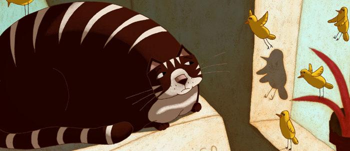 Le Chat qui pleure