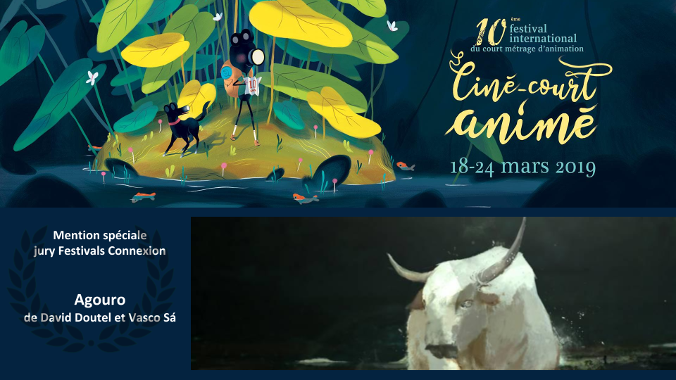 Prix Festivals Connexion au Festival international du court métrage d'animation de Roanne